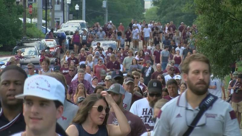 Starkville really earned the name 'Starkvegas' as Mississippi State fans basked in the glory of...