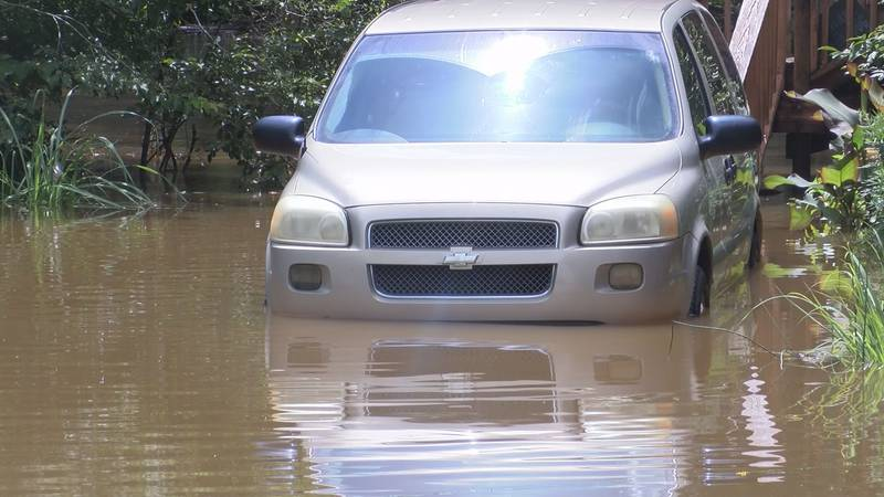 Residents who live near the Tuxachanie Creek off of Highway 15 in Biloxi had to blink twice...