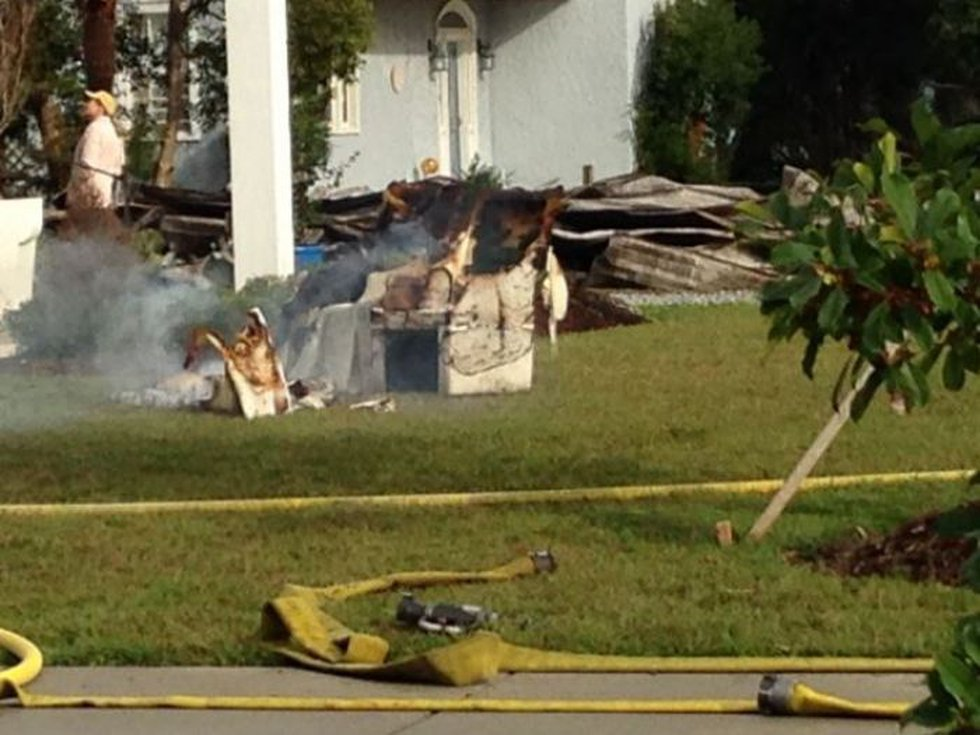 The cause of the fire is still under investigation. (Photo source: WLOX)
