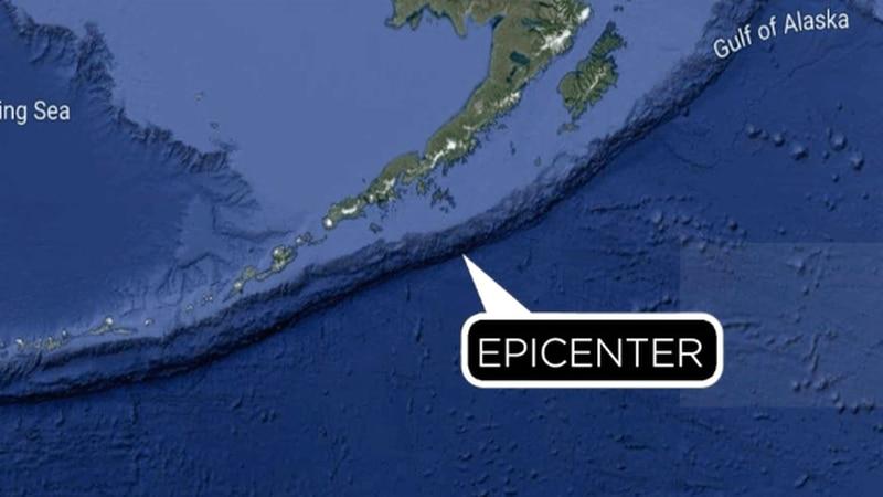A tsunami watch was issued for Hawaii following a large quake off Alaska