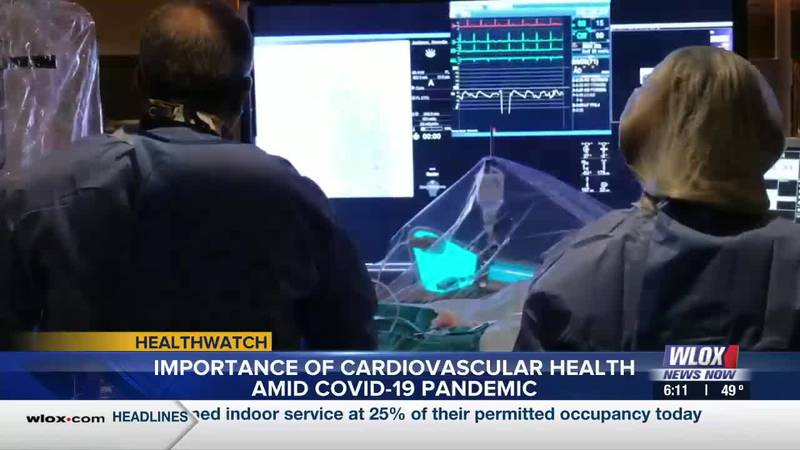 Studies show people with poor cardiovascular health are at increased risk of severe illness...