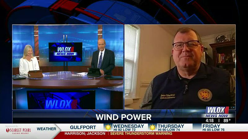 Wind energy is coming to our state. Mississippi Public Service Commission Chairman Dane Maxwell...