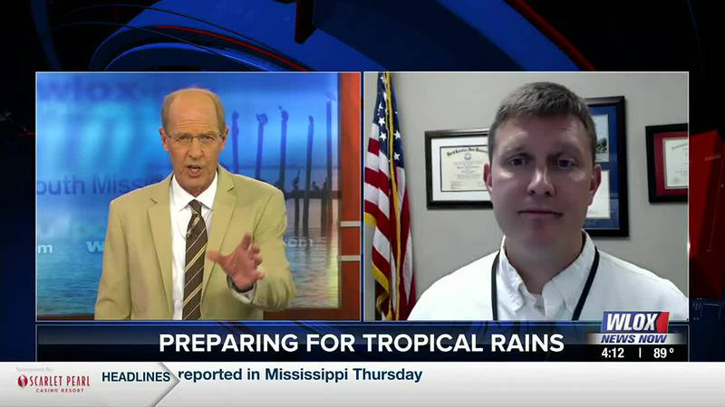 Harrison County Emergency Management Agency Director Matt Stratton discusses how his county is...