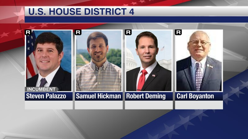 Four Republican candidates looking to represent Mississippi's 4th Congressional District will...