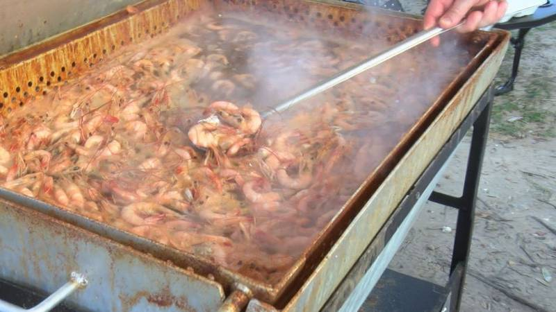 The 40th annual Biloxi Seafood Festival dished out food from 15 vendors to fuel the fun on...