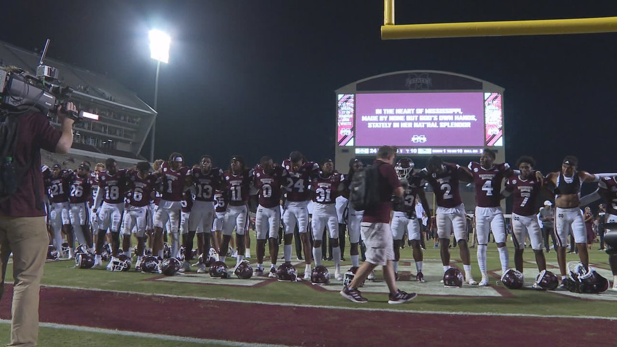 After a close game in week 1 Mississippi State came into week two with something to prove.
