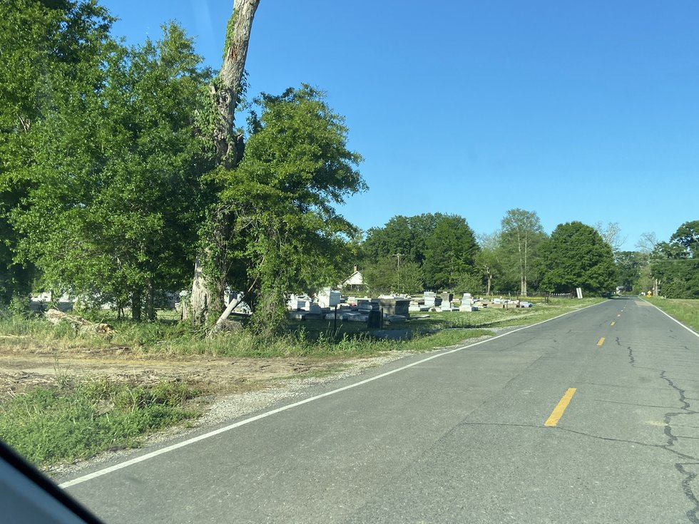 St. Peter Cemetery in Maringouin is believed to have been used only by Blacks even though it...