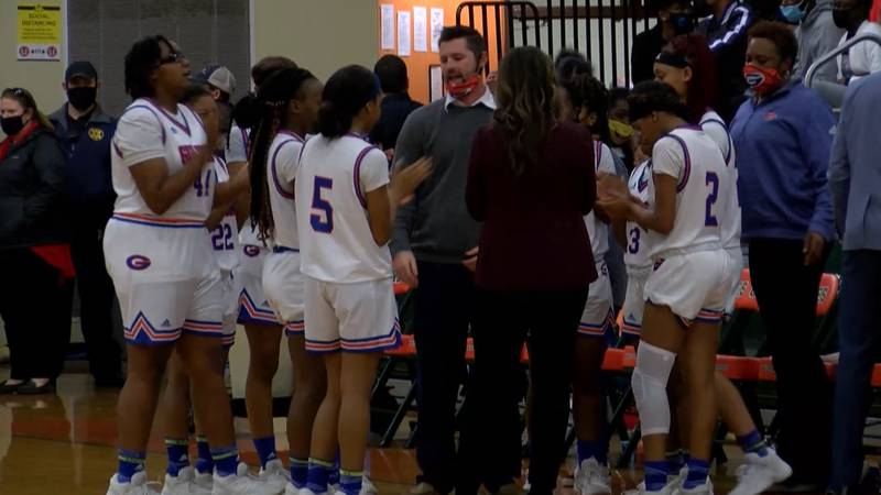 The Lady Admirals took home a district title Friday night.