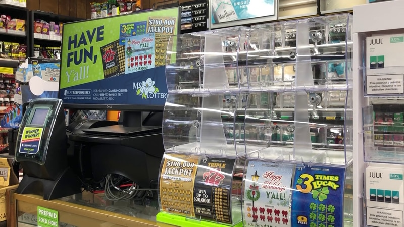 Mississippi lottery tickets go on sale Monday