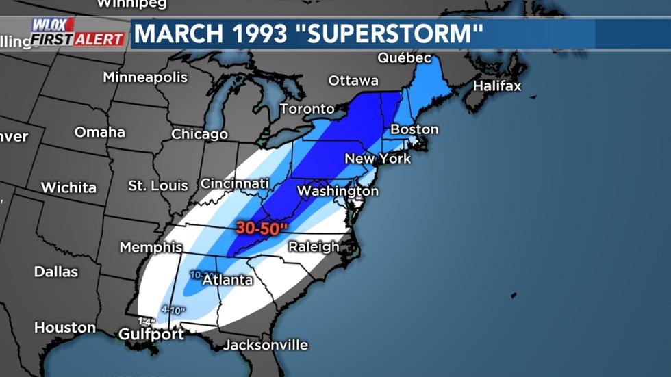 1993 March Snowstorm