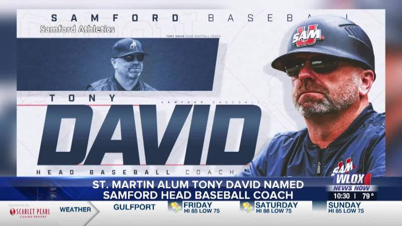 St. Martin alum Tony David named Samford head coach