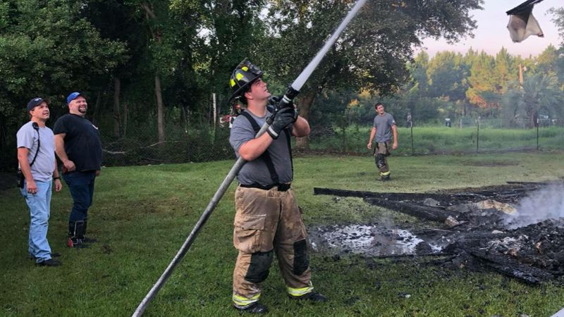 Waveland firefighter Brandon LaFontaine dreamed of working in his career since he was a child.