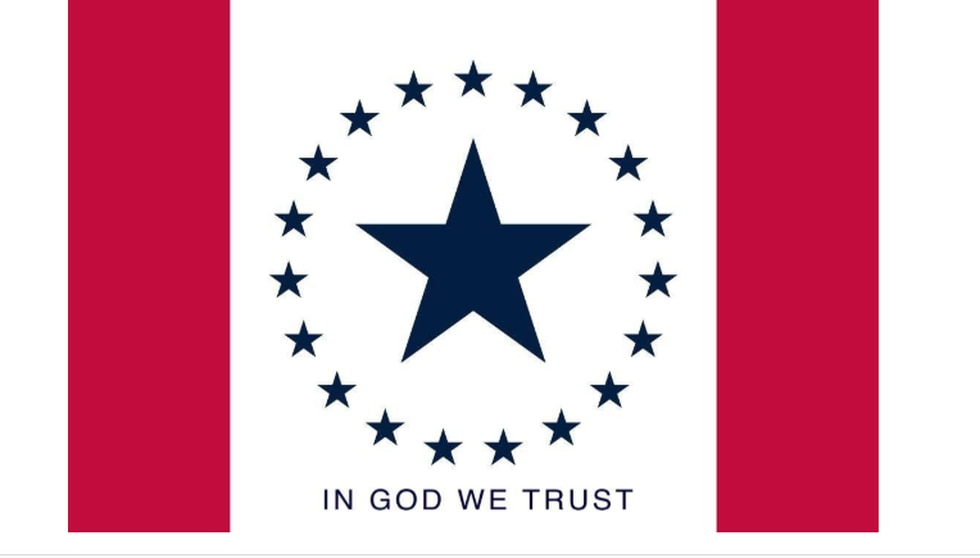 In God We Trust added to Hospitality Flag