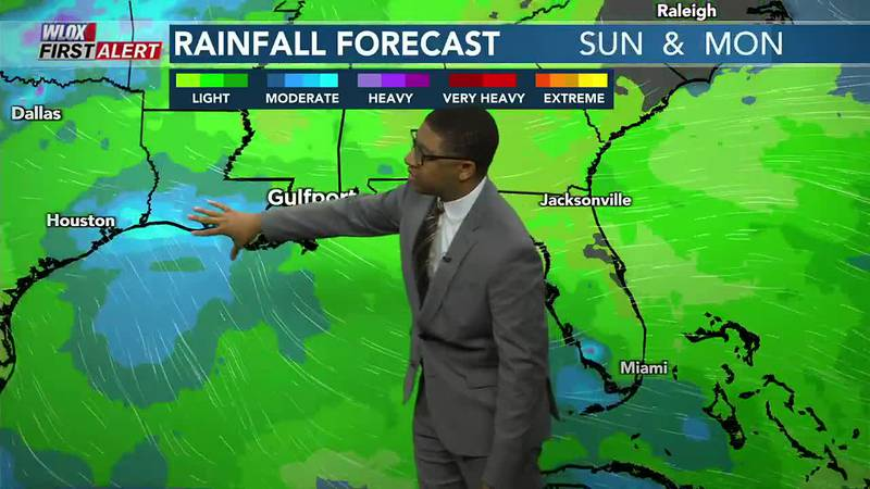 Typical summer heat & pop-up showers for now. Then, Gulf moisture may bring a wetter pattern to...