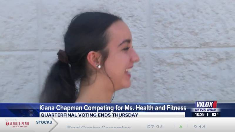 Gulfport native Kiana Chapman competing for Ms. Health and Fitness title
