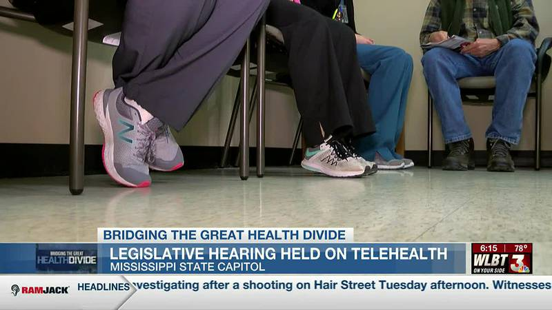 Legislative hearing held to discuss telehealth delivery in the state