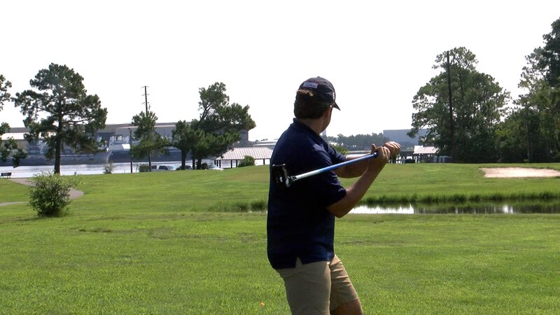 FlingGolf, which is like lacrosse and golf combined, uses just one club and is much faster than...