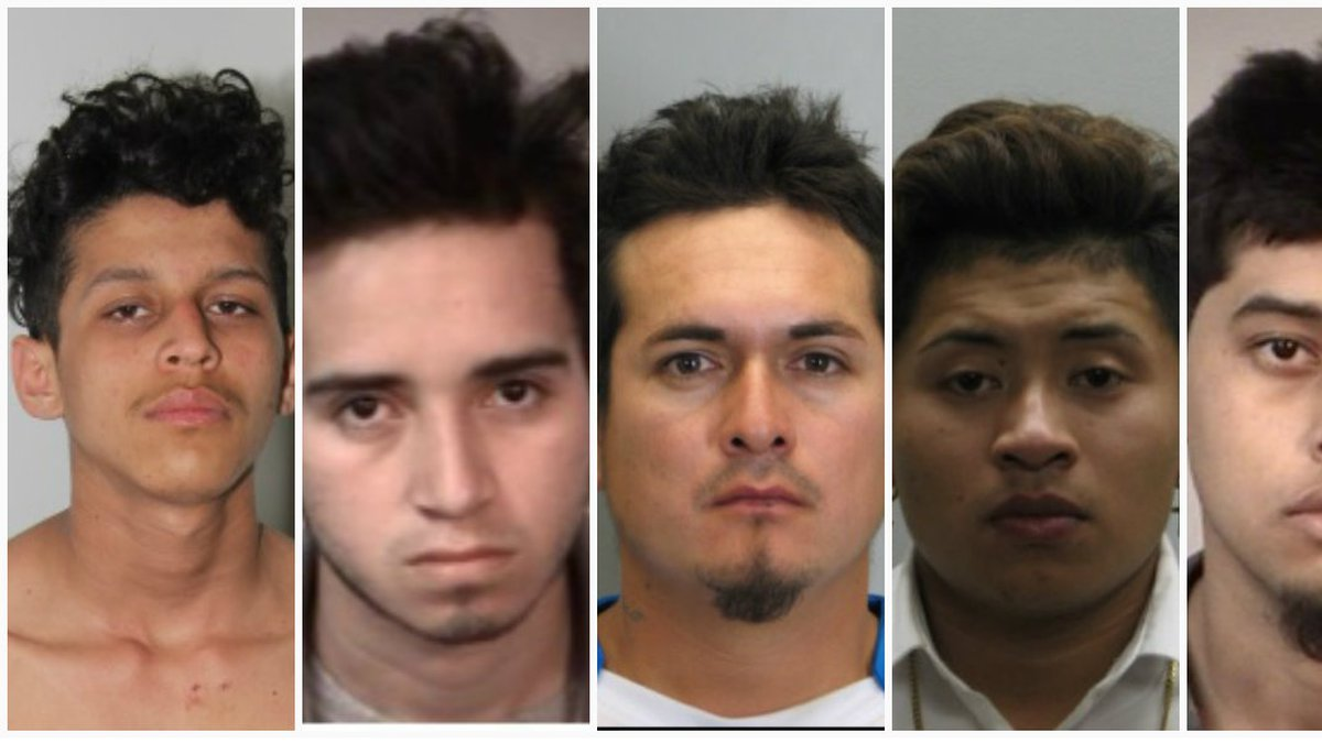 Five MS-13 members are accused of murdering Jacsun Chicas.