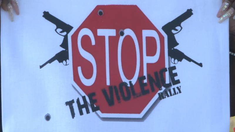 Residents in the River City were calling for an end to the violence with a community event in...