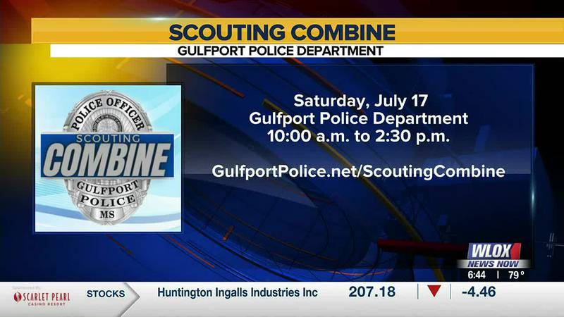 Gulfport Police Department will host a hiring event on Saturday, July 17, from 10:30am to 2pm...