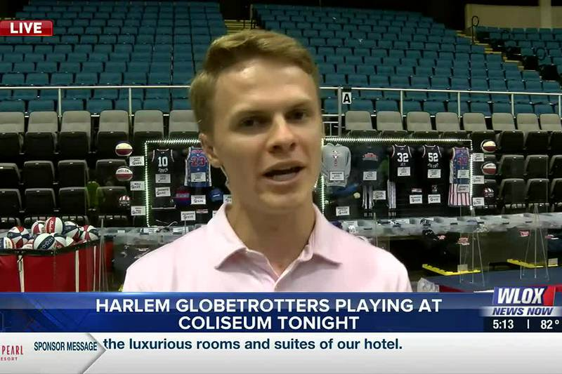 A fun night in store at Mississippi Coast Coliseum as the Harlem Globetrotters are in town!
