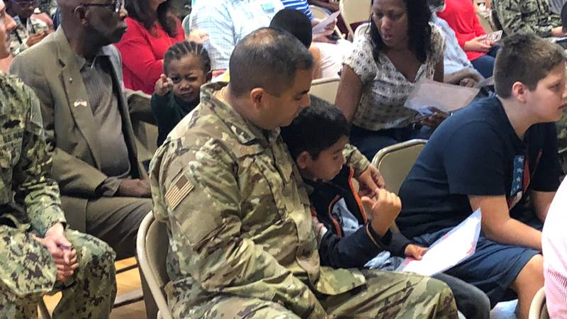 Veterans, active duty servicemembers, and their families were invited to attend the third...