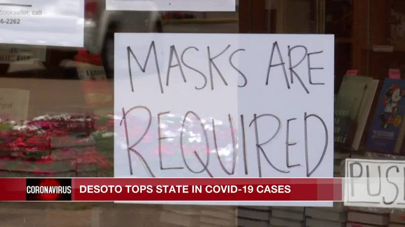 DeSoto County tops state in COVID-19 cases as some officials there downplay pandemic
