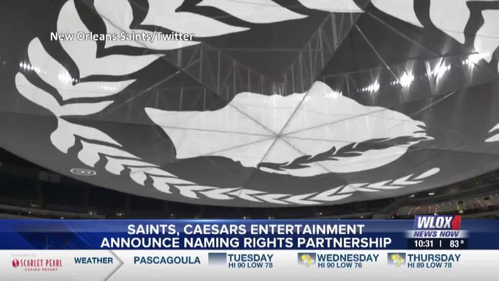 Saints, Caesars Entertainment announce 20-year naming rights partnership